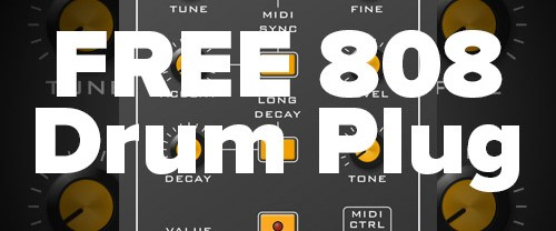 Free BD-808 Drum Machine by Synsonic – Fatty 808s for FREE!!