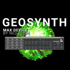 Geosynth – Play Graphics Like an Instrument via MAX