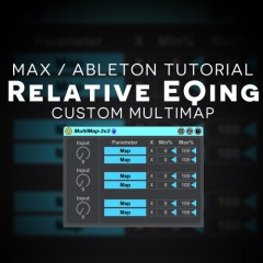 Max 4 Live Tutorial: Relative EQing + Custom Device