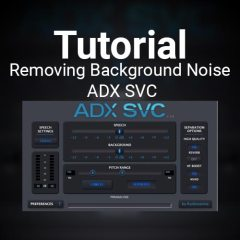 Tutorial: Removing Background Noise with ADX SVC