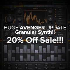 Avenger Gets Huge Granular Update & Currently 20% OFF!!!