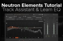 Neutron Elements Tutorial: Tracks Assistant & EQ Learn Features