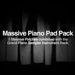 Massive Piano Pads – Ableton Live Instrument Racks