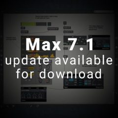Max 7.1 is Out! Now with Package Manager!!