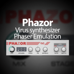 Phazor – Virus Synth Phaser Emulator [Free]