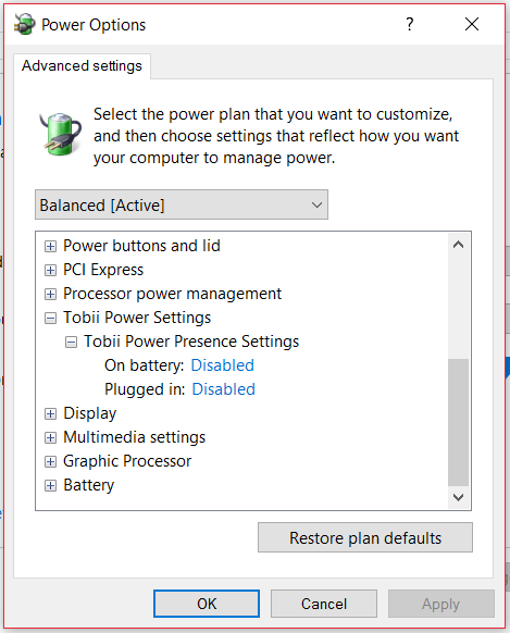 tobii-power-presence-settings