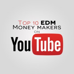 Top 10 EDM Youtube Money Makers