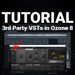 Ozone 8 Tutorial: 3rd Party VSTs in Ozone's Device Chain!!!!