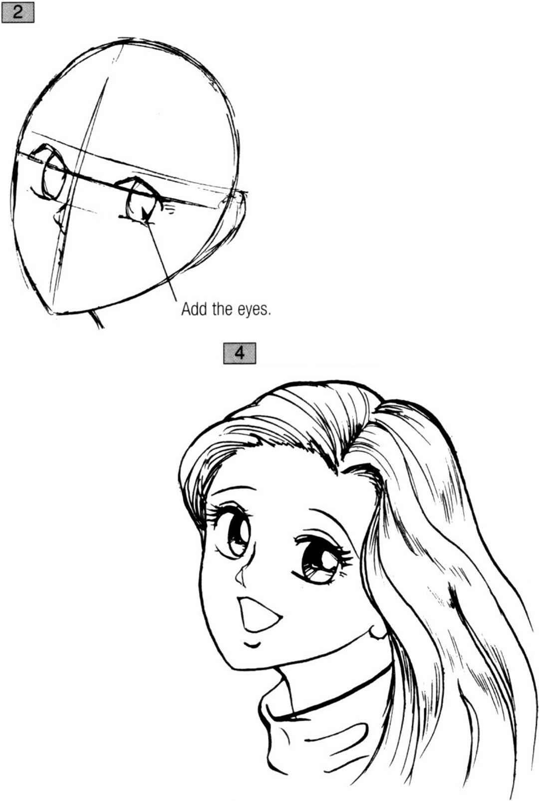 Anime Body Template With Eyes