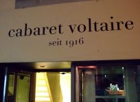 The facade of the Cabaret Voltaire