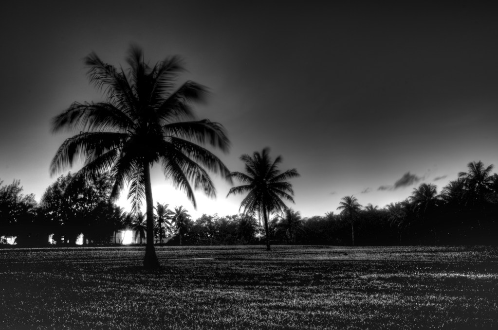 B&W After Sunset