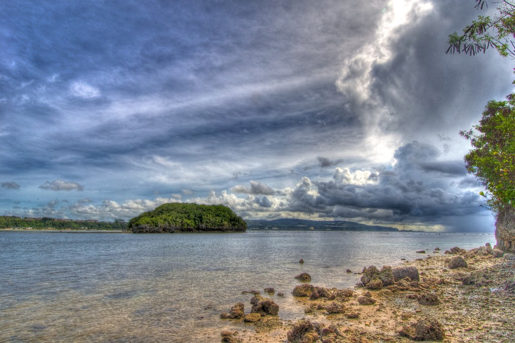 Alupat Island from Shore