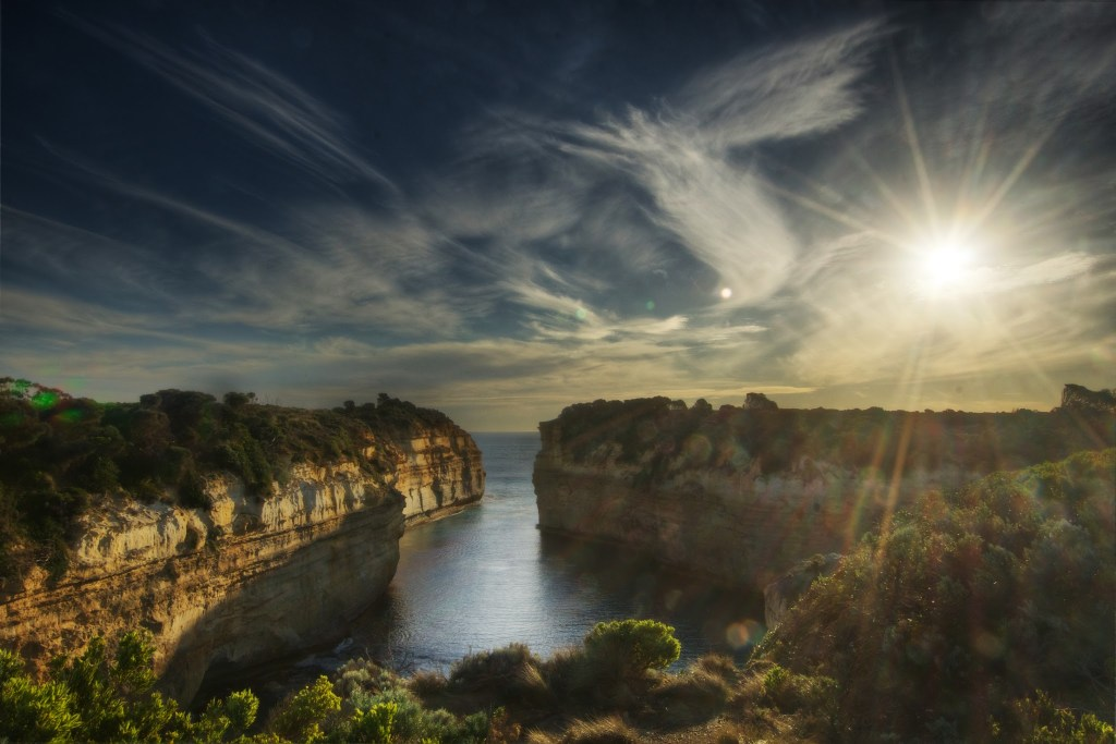 Loch Ard Gorge, Original Processing