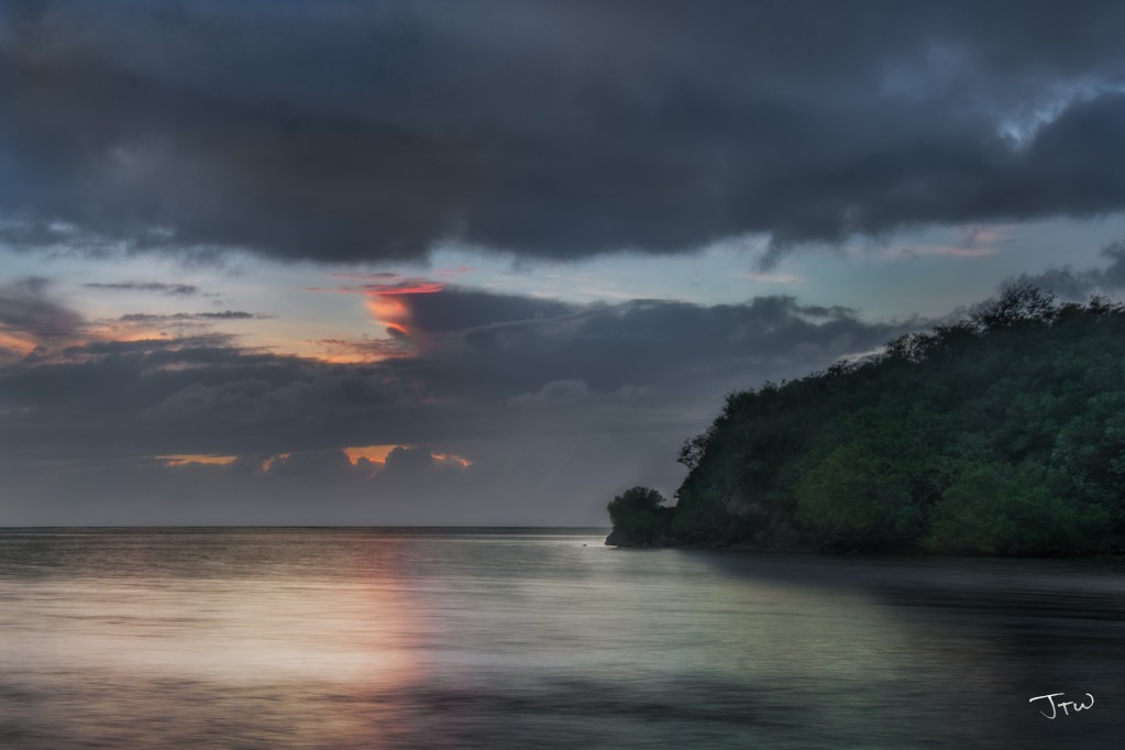 Agat After Sunset