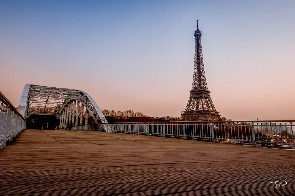 Eiffel Tower from Passerelle Debilly