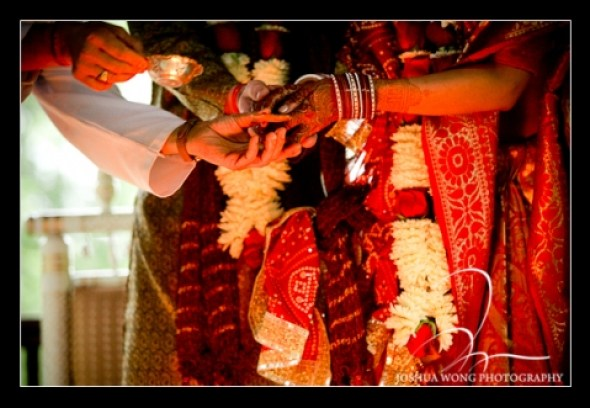 Indian and Jewish Wedding Ceremony