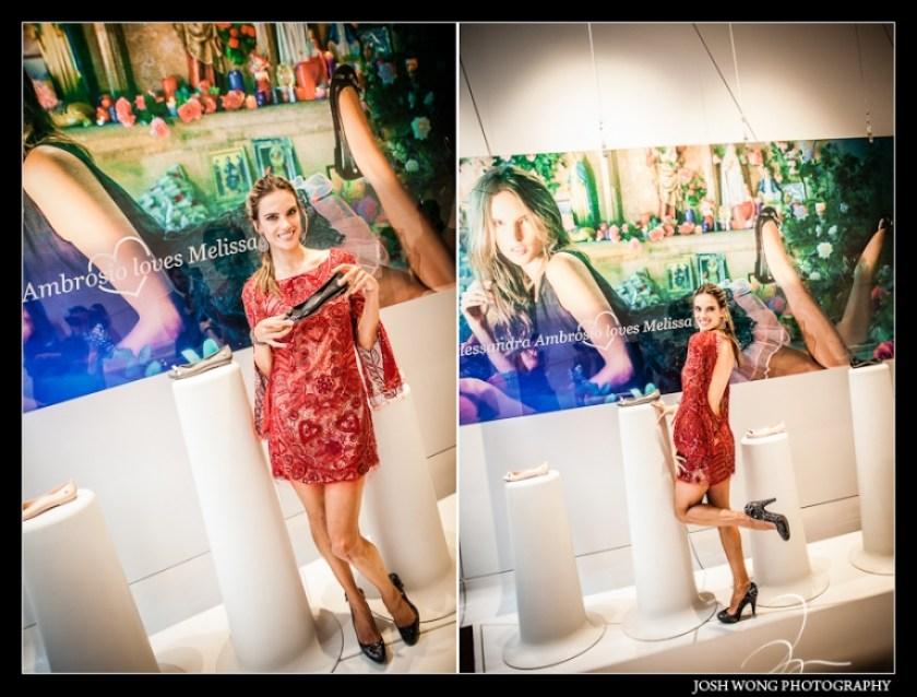 ALESSANDRA AMBROSIO Loves Melissa Launch at Galeria Melissa