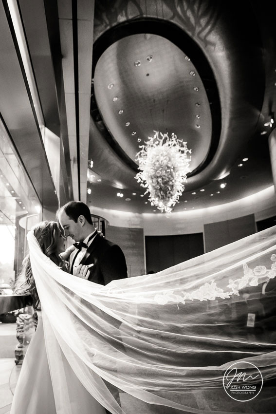 Mandarin Oriental Hotel NYC Wedding Pictures by Josh Wong Photography