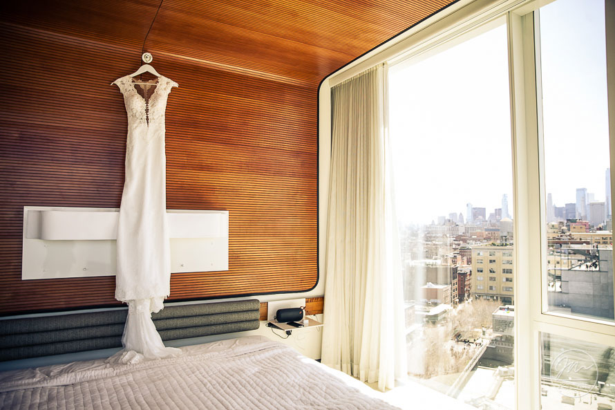 The Standard Hotel New York - Pictures by Top New York Wedding Photographer Josh Wong Photography