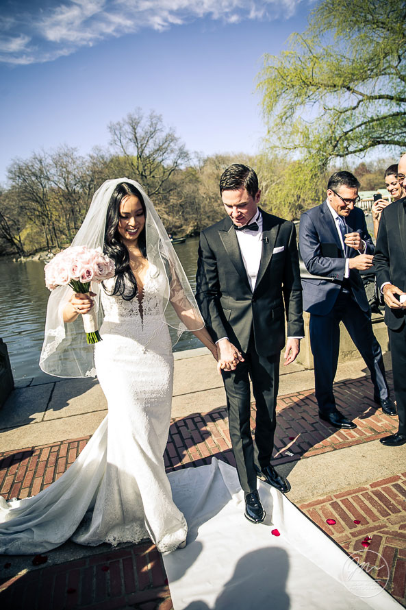 Central Park Bethesda Fountain Wedding NYC Wedding - Pictures by Top New York Wedding Photographer Josh Wong Photography