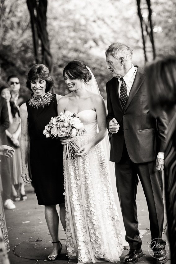 Conservatory Garden Central Park Conservancy Weddings by Central Park Wedding Photographer Josh Wong Photography