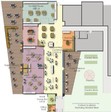 MSLC Floor Plan