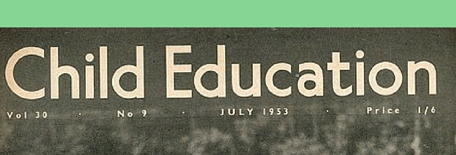 Child Education Magazine - a window on the past