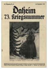 Xmas 1915 Daheim - Cover 073