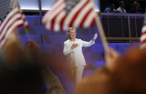 Hillary's Go-To Gesture