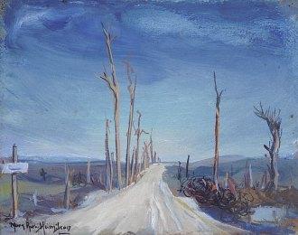 The Kemmel Road, Flanders