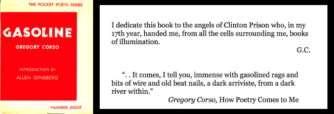 The Romance of Gregory Corso: Cypress, Marble, Moon!