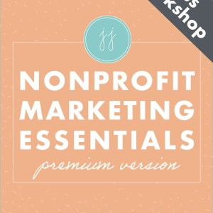 nonprofit essentials plus workshop