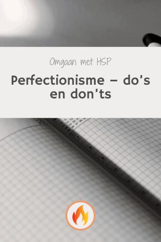 perfectionisme