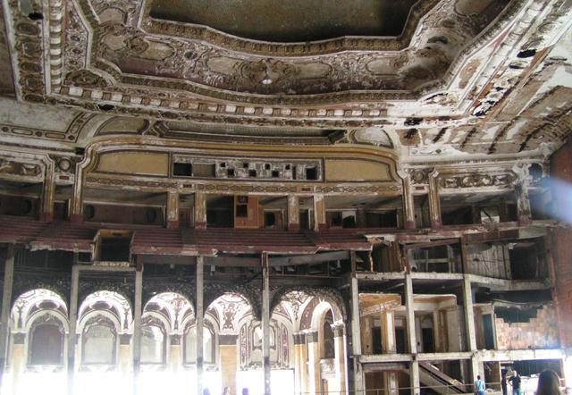 La desolación del Michigan Theater, una tragedia shakesperiana en sí misma.