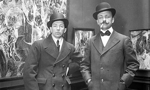 Umberto Boccioni y Marinetti