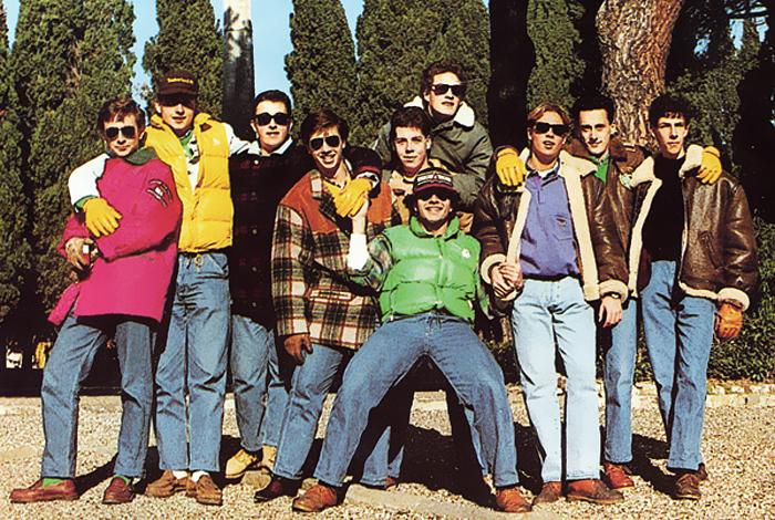 Grupo de paninari