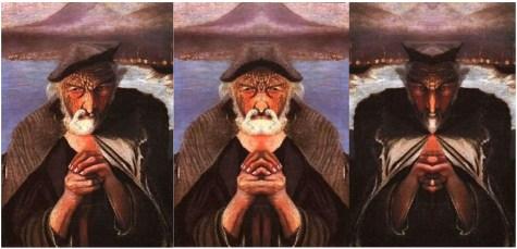 El viejo pescador y su transtorno de personalidad múltiple.