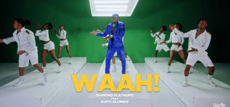 """Diamond Platnumz – """"Waah"""" ft. Koffi Olomide"""