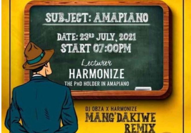 DJ OBZA & HARMONIZE – MANG'DAKIWE REMIX FT. LEON LEE, JotNaija