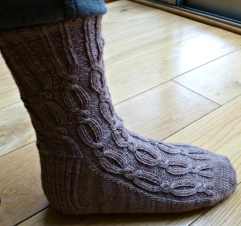 Jo Torr Belgravia Revisited socks