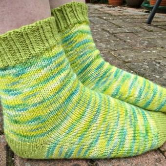 Jo Torr Perfect vanilla socks free short row heels