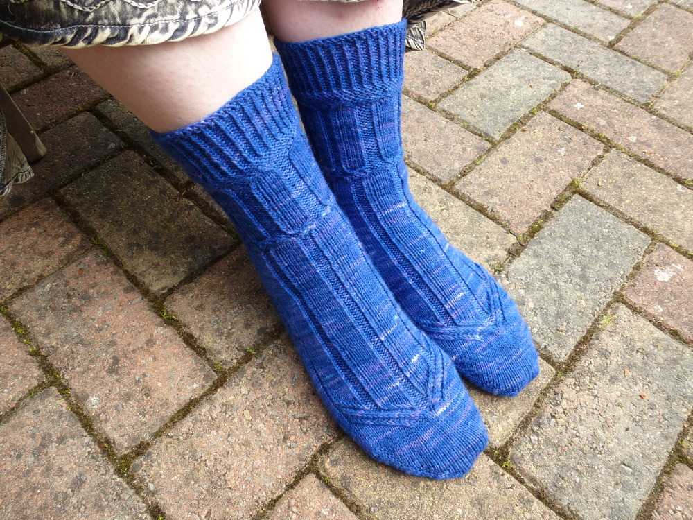 Jo Torr One Step at a Time Socks