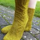 Jo Torr Perivale cable socks