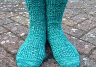 Jo Torr Maida Vale Japanese lace socks