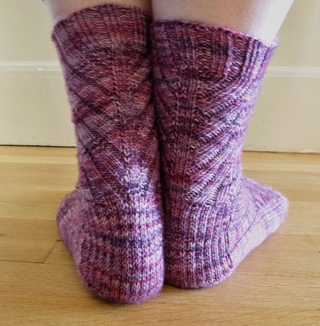 Jo Torr Aldgate toe-up ribbed socks