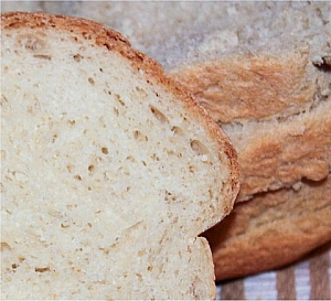 sliced bread with magarine