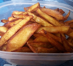 Golden Crunchy Chips