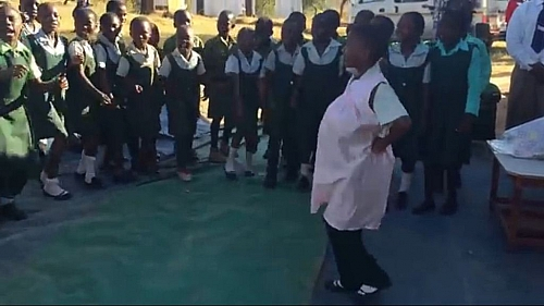 Students of Chikava primary school in Zimbabwe creating enlightenment on the importance of Prenatal care (https://www.youtube.com/watch?v=wBHKgDlcXN0)