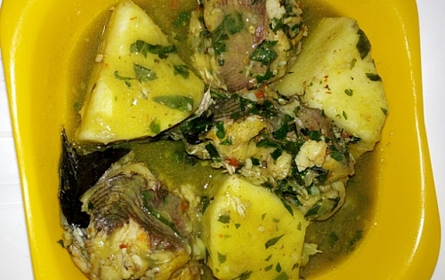 How to prepare yam with catfish pepper soup