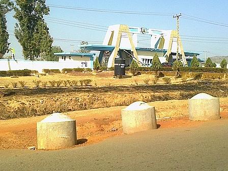 University of Jos Permanent site gate
